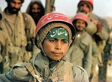 Barnesoldat Iran-Irak-krigen