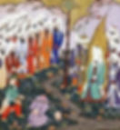 Nadr ibn al-Harith halshugges foran Muhammed