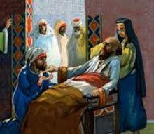 Muhammeds dødsleje