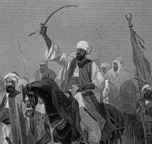 Islam udbredes med sværdet