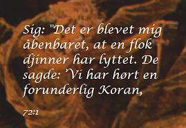 Djinner / jinner i Koranen