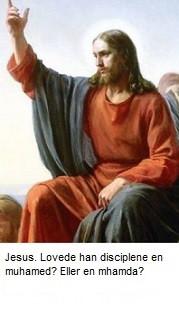Jesus fortalte disciplene at der ville komme en talsmand
