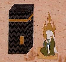 Muhammed ved Kabaen