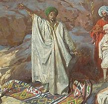 Muhammed prædiker