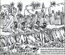 Massakren på jødiske mænd fra Banu Qurayza
