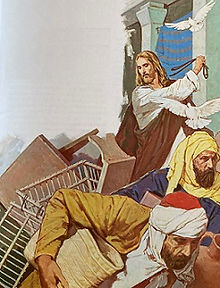 Jesus renser Templet.jpg