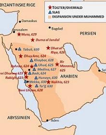 Muhammeds togter og slag