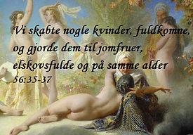 Jomfruer i Paradis i Koranen