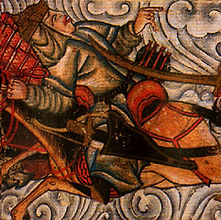 Slaget ved Badr - hug over halsen