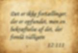 Koranen er en bekræftelse af de tidligere skrifter - sura 12 vers 111