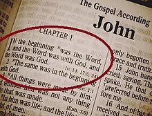 Johannesevangeliet kapitel 1