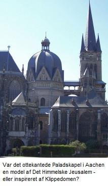 Pfalz-kapelle i Aachen opført af Karl den Store
