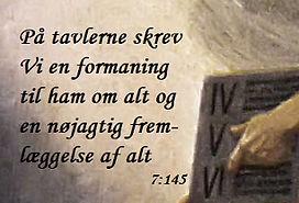 Koranen om Toraen - sura 7