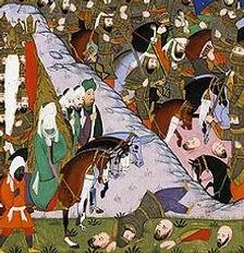 Slaget ved Uhud og Muhammed