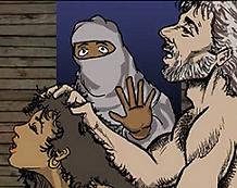 Hafsa opdager Muhammed og Maria