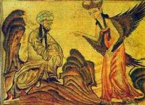 Muhammed og Gabriel