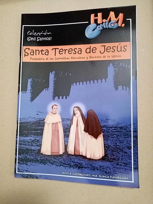 Cómic de Santa Teresa