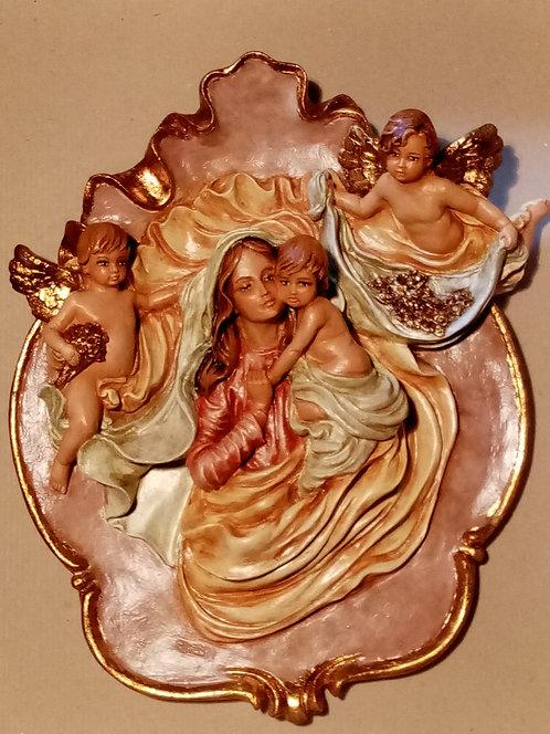 Medallón Virgen con el Niño