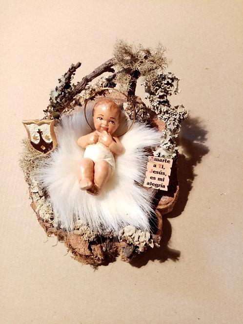 Niño Jesús en el portalito