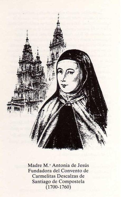 Estampa Madre María Antonia catedral