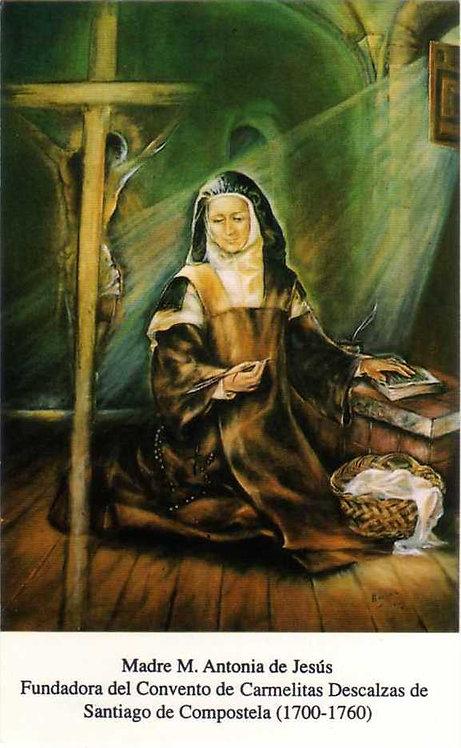 Estampa Madre María Antonia