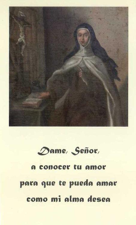 """Estampa Madre María Antonia """"Dame Señor..."""""""