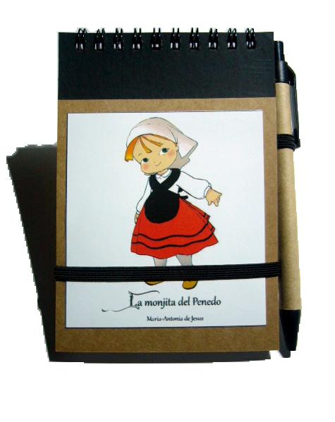 Libreta la niña Maria-Antonia