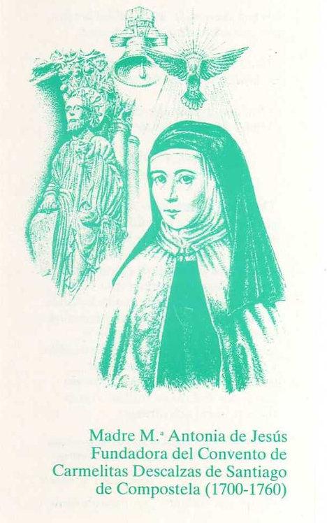 Estampa Madre María Antonia y Santiago Appostol