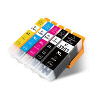 Epson Compatible T33  Orange Ink Set of 5