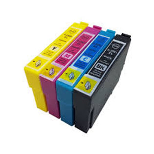 Epson Compatible T29  Strawberry Ink Set of 4