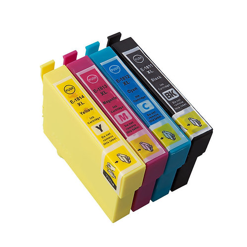 Epson Compatible T18 Daisy Ink Set of 4