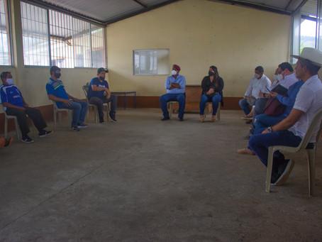 Conversatorio pro comunidad con sector agricultor de la comuna Buenos Aires en Piñas