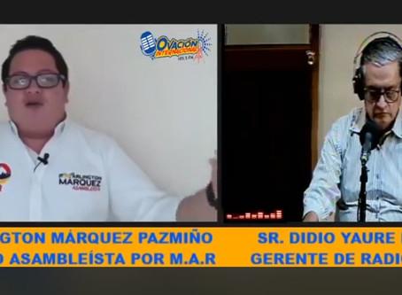 REACTIVACIÓN ECONÓMICA Y APOYO AL EMPRENDIMIENTO PROPONE ARLINGTON MÁRQUEZ