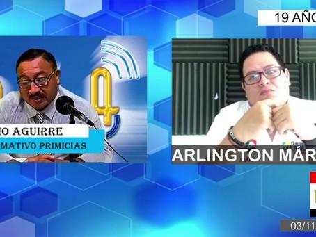 ARLINGTON MARQUEZ: ES MOMENTO DE DARLE EL PODER A LA CIUDADANÍA.