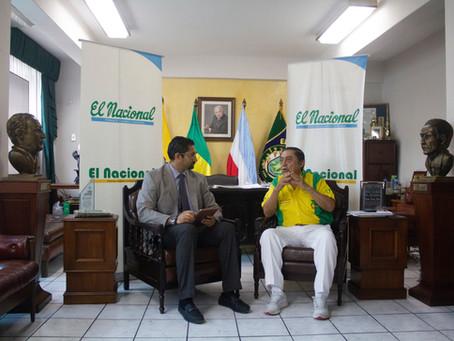 El Oro será un referente de desarrollo sostenible, dice el candidato a prefecto Montgomery Sánchez.