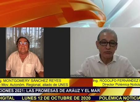 MONTGOMERY SÁNCHEZ REYES: NOSOTROS SEGUIMOS PROYECTOS, NO PERSONAS.