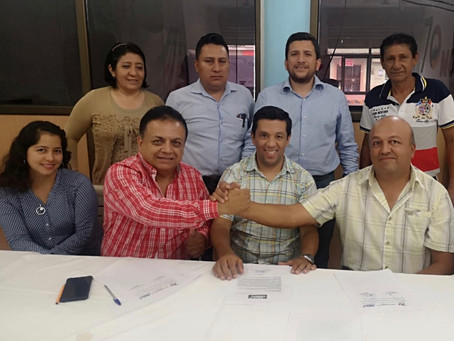 Movimiento M.A.R. sella alianza con movimiento Atahualpa Renace