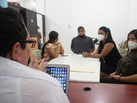 ESTUDIANTES DE LA UTMACH COMPARTEN PROPUESTAS SOBRE COMUNICACIÓN POLÍTICA CON MOVIMIENTO MAR70