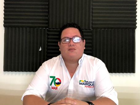ARLINGTON MARQUEZ EXPONE PLAN DE TRABAJO DE MAR70 A CIUDADANOS DE BALSAS Y SUS ALREDEDORES