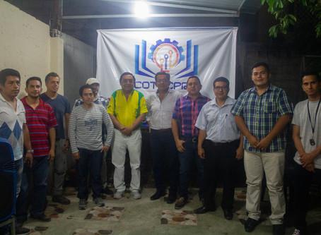 Directivos de Col. Tecnólogos dialogaron con candidato Montgomery Sánchez Reyes