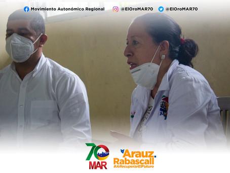 Teresa Rodas garantiza escuchar a todos los sectores de la provincia