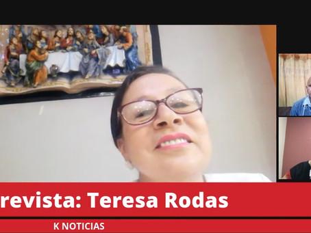 """TERESA RODAS CUENCA: """"NUESTRAS PROPUESTAS SON ACORDE A LO QUE LA CIUDADANÍA NECESITA"""""""