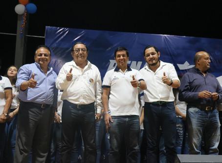 Movimiento M.A.R. lanza candidatos a la alcaldía en Balsas y Atahualpa.