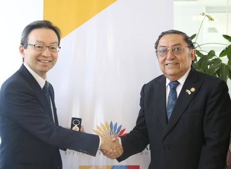 Nuevo Embajador japonés saludó con Grupo Parlamentario de amistad con Japón