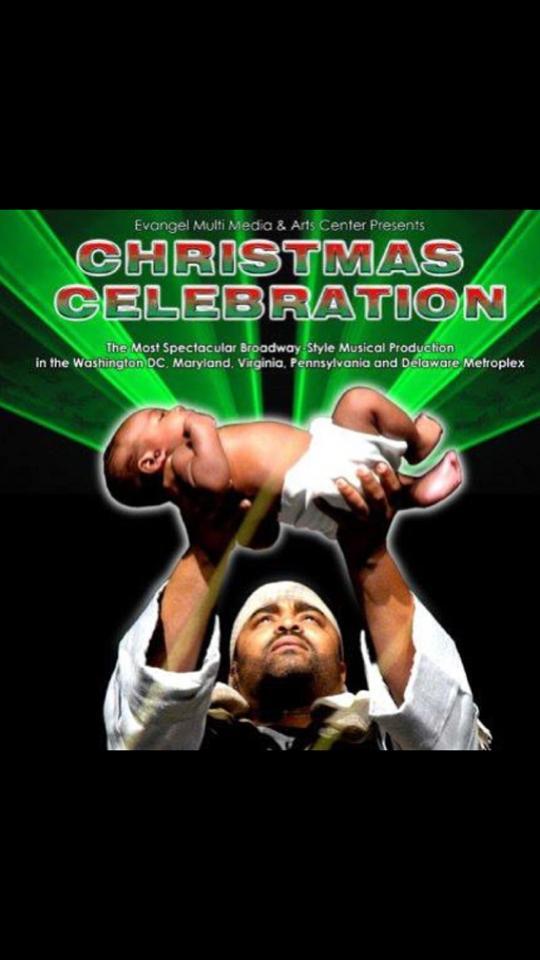 Joseph beholds Baby Jesus