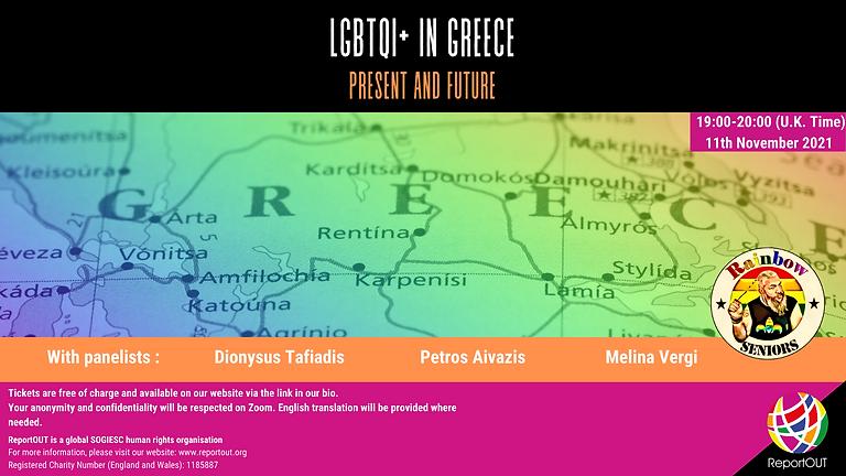 LGBTQI+ in Greece: Present and Future