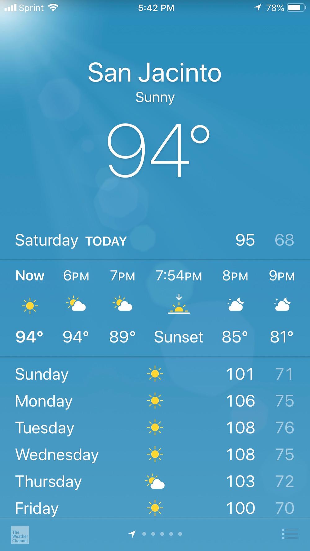 Heat wave? No way! It's been permanent!