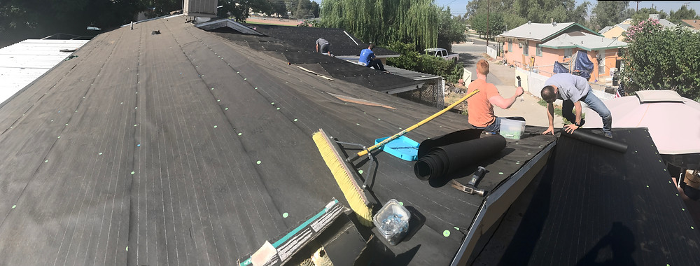 Roofing in SoCal during summertime is brutal
