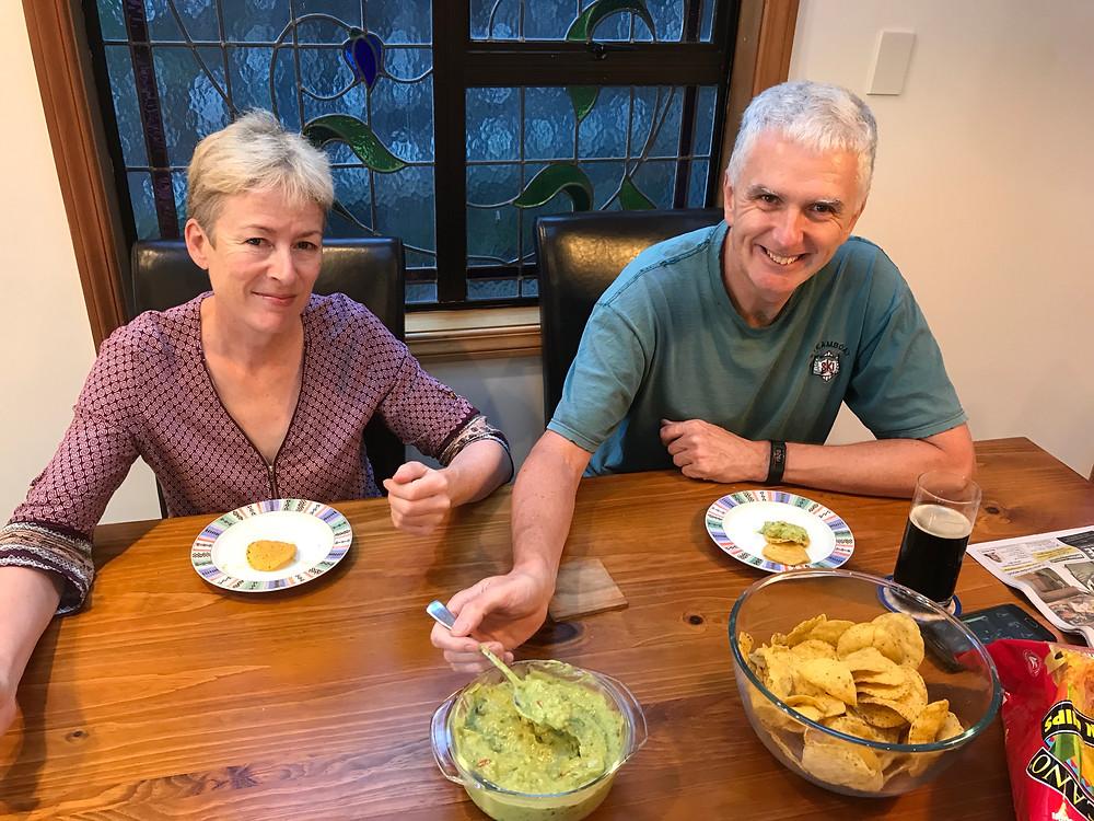 Genuine guacamole