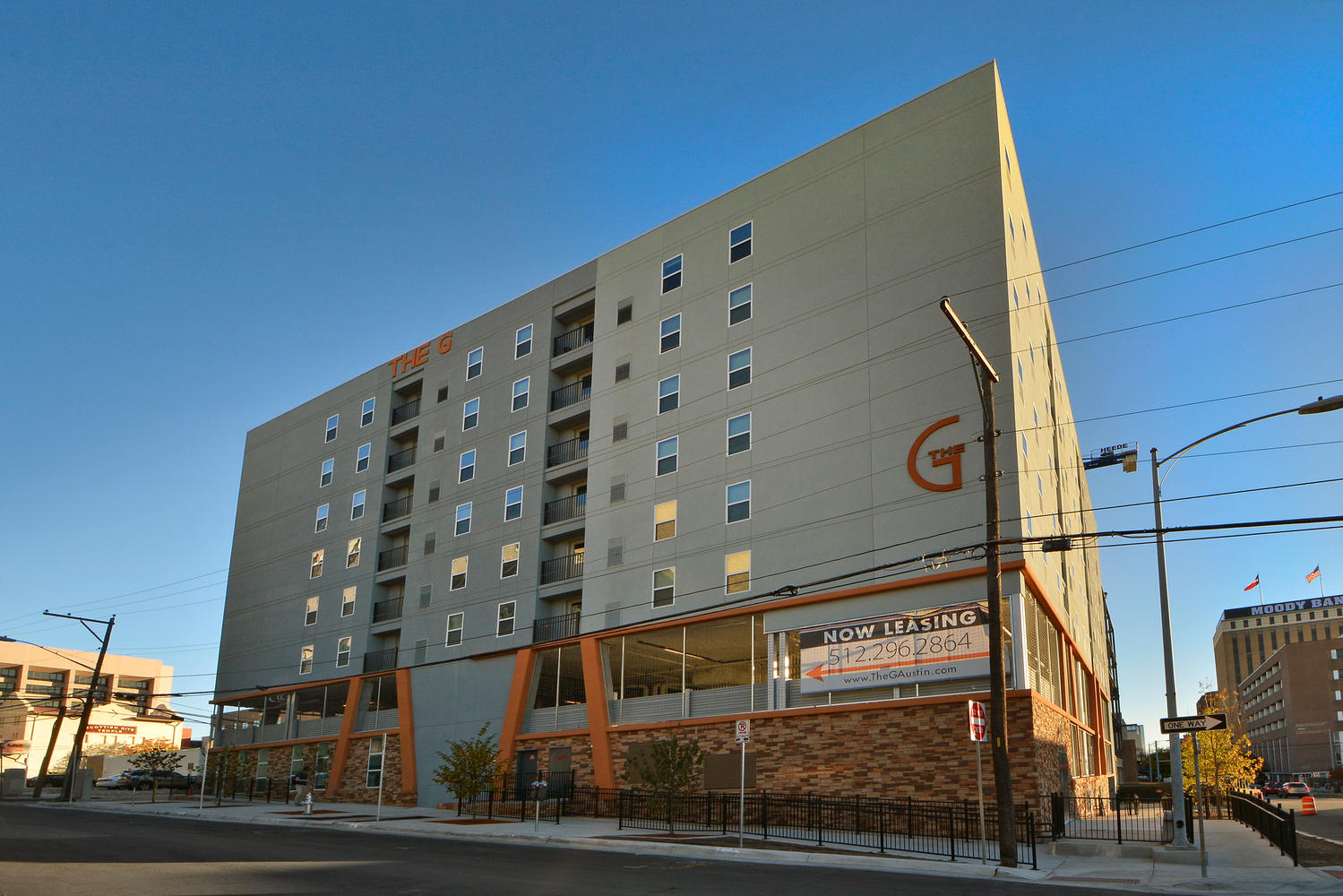 The G in UT South Campus
